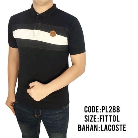 jual baju polo pria cowok laki laki kaos kerah motif distro premium 146 di lapak dtas store