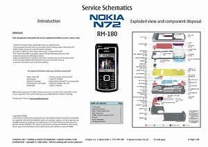 Nokia N72 Rm180 Schematics Service Manual Download  Schematics  Eeprom  Repair Info For