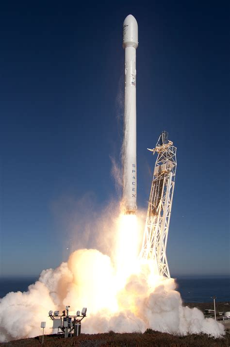 upgraded falcon  mission overview spacex