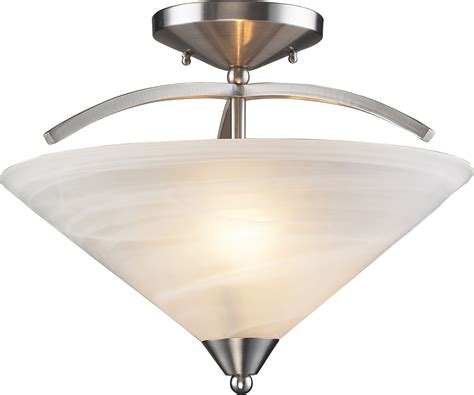 elk lighting 7633 2 elysburg semi flush mount ceiling fixture