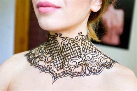 henna selber malen henna schablone selber machen