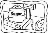 Sugar Coloring Celebrate sketch template