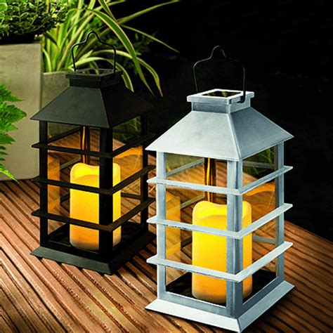 Cole Bright Solar Led Flickering Hanging Coach Candle