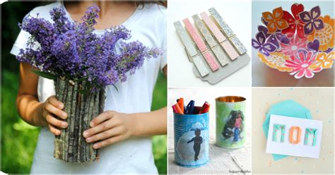 super easy diy mothers day gifts  kids  toddlers