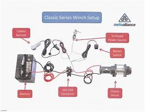 Unique Winch Contactor Wiring Diagram  Diagram