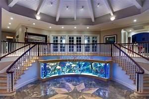 30  Inspiring Home Stairs Design Ideas With Aquarium