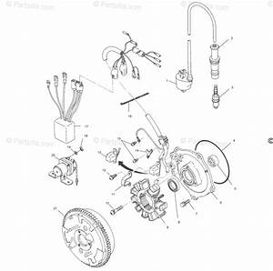 Polaris Atv 2000 Oem Parts Diagram For Magneto A00ck42aa
