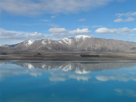 Lake Tekapo Mackenzie Country New Zealand