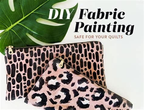 diy fabric painting safe   quilts suzy quilts