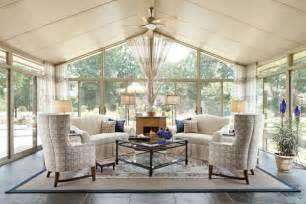 Rattan Deck Furniture by Rugs In The Sunroom Four Season Porch