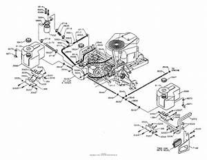 Dixon Ztr 5017  2001  Parts Diagram For Fuel Hydro Tanks