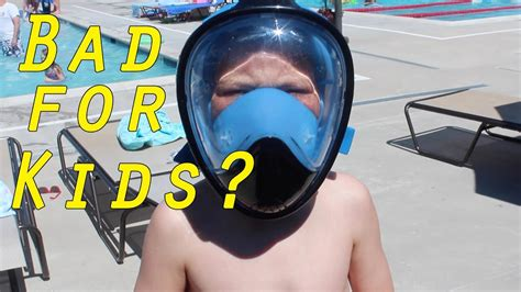 bad  kids full face snorkel masks youtube
