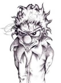 Evil Clown Drawings Jokers