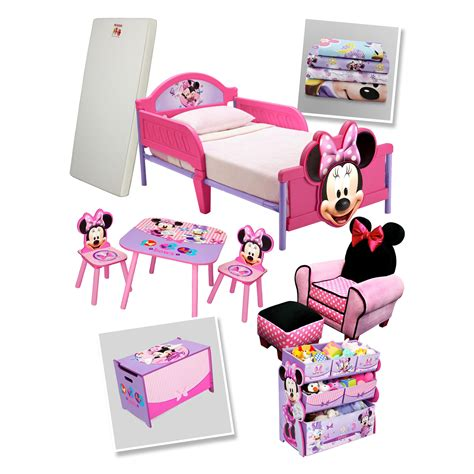 delta 3d minnie mouse toddler bed kmart