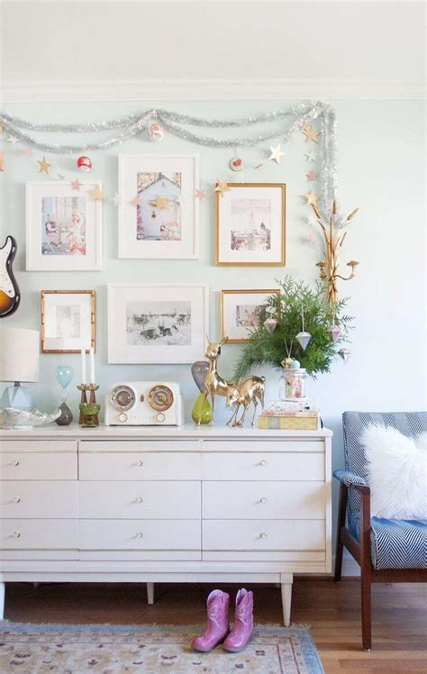 tinsel decorating ideas  designs