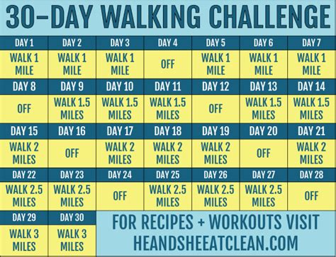 You can print from your home, your local print shop, or your favorite online printing company. 30-Day Walking Challenge with Printable Tracking Chart