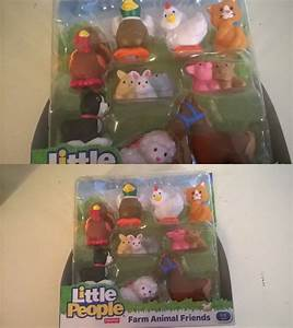 Little People 1997-Now 158744: Fisher-Price Little People Farm Animal Friends With Baby Bunnies ...