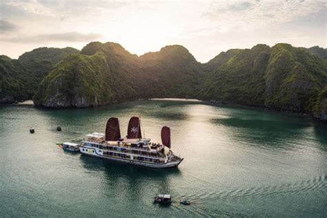 Halong Bay Boat Trip Prices by Halong Bay Boat Trip Orchid Cruise Halong Bay Tours From