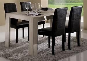 Salle A Manger Chene Blanchi : table de repas pisa chene blanchi soho l 190 x h 77 x p 90 ~ Teatrodelosmanantiales.com Idées de Décoration