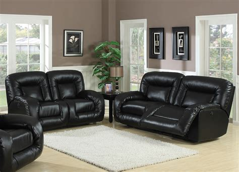 Living Room Design With Black Leather Sofa : Black Leather Sofa Living Room