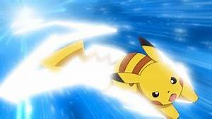 Pikachu usando Quick Attack (Imagens do Anime) - +Plus ...