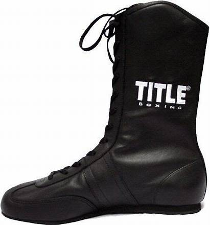 Boxing Title Shoes Leather Boots Oncetrip Sports