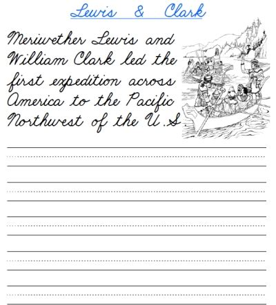 free world explorers cursive packet printable cursive handwriting