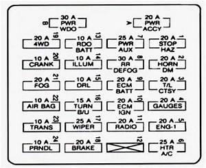 1992 Gmc Jimmy Fuse Box Diagram 41264 Nostrotempo It