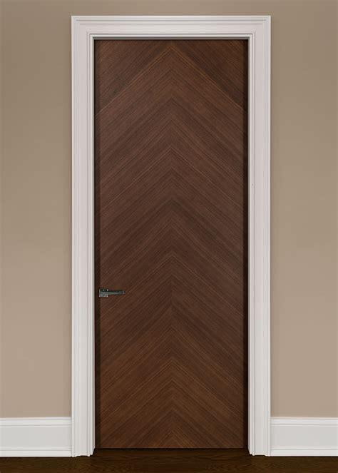 contemporary interior doors modern interior door custom single wood veneer solid
