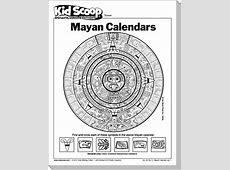 Mayan Calendar Kid Scoop