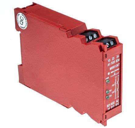 440r n23117 minotaur msr126t safety relay single channel 24 v ac dc 2 safety allen