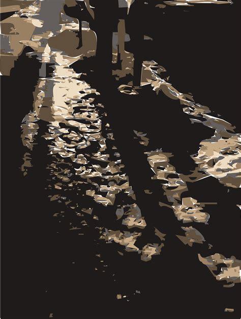 Clipart  Snow Shadows