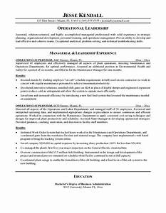 manager resume objective sample jennywasherecom With resume samples for supervisor positions