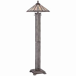 arden tiffany style quoizel floor lamp v1691 www With silver tiffany floor lamp