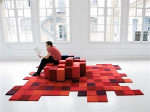 quand ron arad reinvente le tapis design democratic design With tapis shaggy avec ron arad canapé