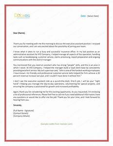 Sample Thank You Letter After Interview 5 Plus Best