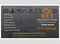 ACS Advanced Car Services Auto Electrician in Manchester
