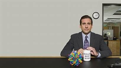 Office Desktop Tv Boss Carell Steve Series
