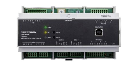 Din Rail 3-series® Automation Processor