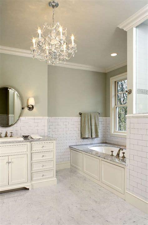 Green Bathroom Backsplash by Green Bathrooms Subway Tiles And Bathroom On