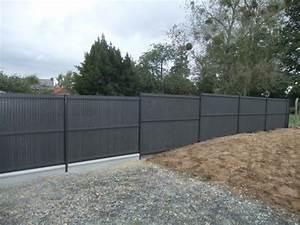 Panneaux Soudes Gris Anthracite : panneaux rigides gris grillage rigide jardin chromeleon ~ Edinachiropracticcenter.com Idées de Décoration