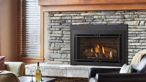 majestic ruby gas inserts series gas fireplace direct