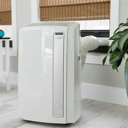 Portable Air Conditioners Sliding Windows Self Delonghi