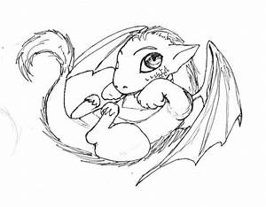 Baby Dragon Coloring Pages | baby dragon drawings image ...