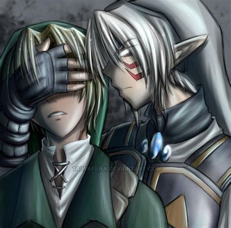 Link And The Fierce Deity Close Your Eyes The