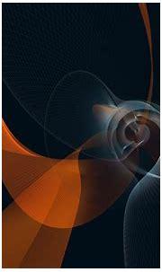 Orange, white, and black swirl 3D wallpaper HD wallpaper ...