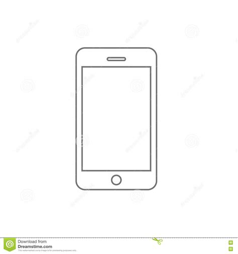 mobile simple mobile phone black simple icon vector illustration