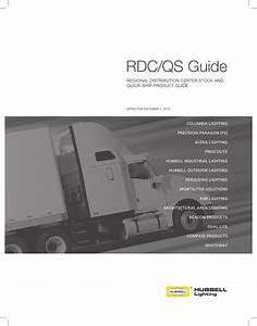 Hubbell Lighting Rdc  Qs Guide