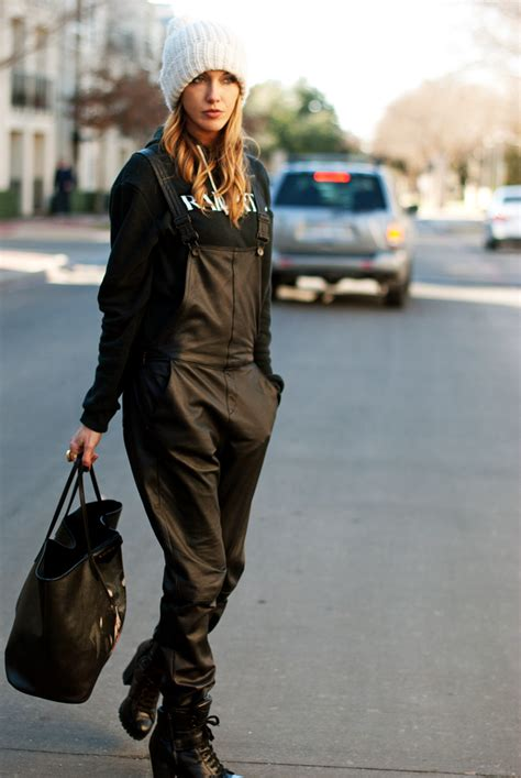 leather overalls tomboy kc
