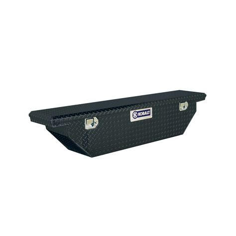 Shop Kobalt Midsize Black Aluminum Truck Tool Box At Lowescom